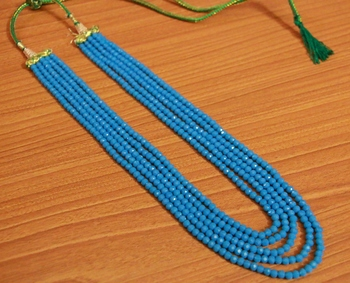 Turquoise Crystal Necklaces