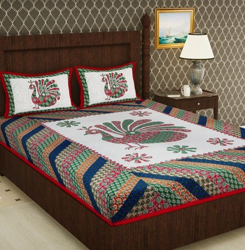 Cotton Double Animal Bedsheet