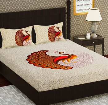 Cotton Double Animal Bedsheet