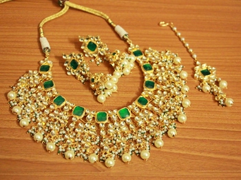 Green Onyx Necklace-Sets