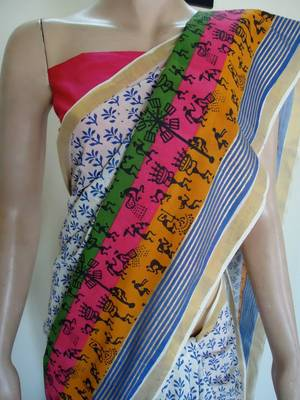 summer fashion saree