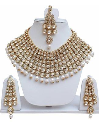 White cubic zirconia necklaces