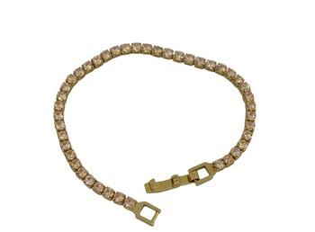 White cubic zirconia bracelets