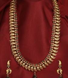 Buy Design no. 10b.2252....Rs. 3000 necklace-set online