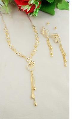 White necklaces