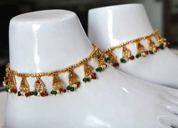 Traditional Gold Payal