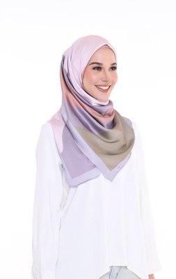 Women'S Casual Wear Printed Satin Silk Square Scarf Hijab Dupatta