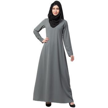 A-line inner abaya - Grey