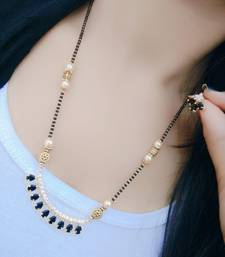 Buy Gold diamond mangalsutra