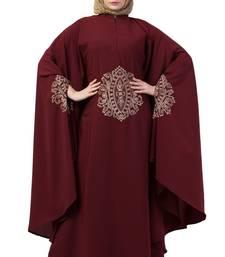Maroon Kabtan Irani Style