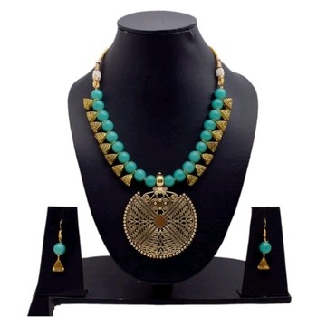 Turquoise Pearl Necklaces