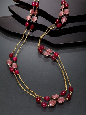 Red  ruby necklaces