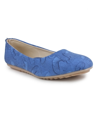 Blue Beautiful synthetic material bellies for women