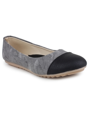 Grey Beautiful synthetic material bellies for women