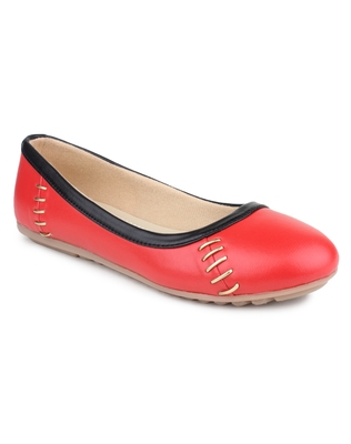 Red Beautiful synthetic material bellies for women