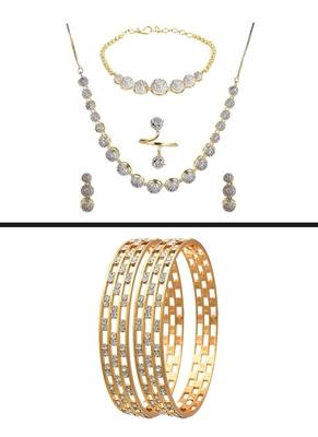 Diamond jewellery combo