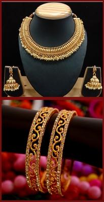 Gold Jewellery Combo