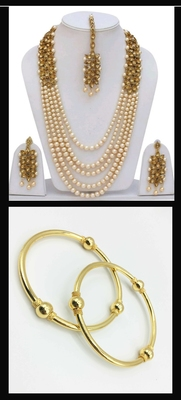 Pearl & Gold jewellery combo