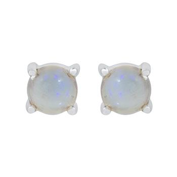 white  pearl studs