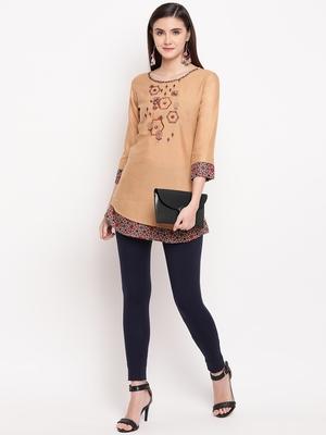 Rayon A-line Stitched kurti
