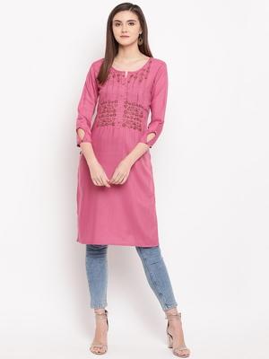 Muslin Straight Stitched kurti