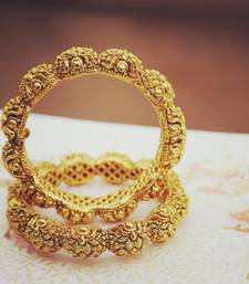 Buy Ladoo Temple Bangle bangles-and-bracelet online