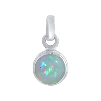 Multicolor opal pendants