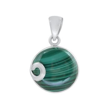 Green Malachite Pendants