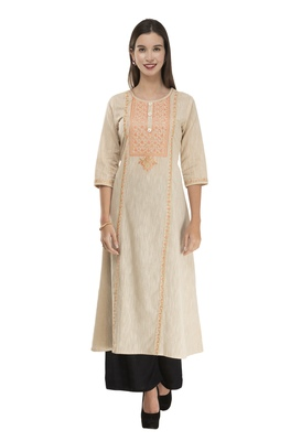 Lagi Womens Embroidered Anarkali Kurta MRP25