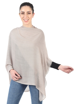 Super Fine Blended Ultra Soft & Warm Wool Silk Unisex Pashmina Shawl, Stole & Wrap with Hanger