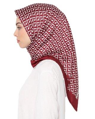 Justkartit Women's Multi Color Satin Silk Square Scarf Hijab