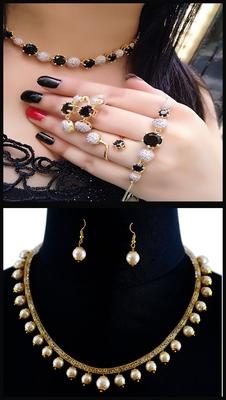 Multi Colour Necklace Combo