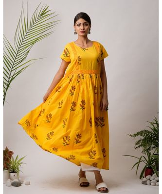 Sunhen Cotton Long Dress