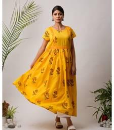 Sunhen Cotton Long Dress