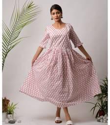 Ambi Cotton Long Dress