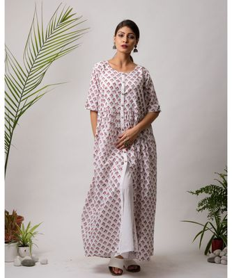 Firdaus Cotton Long Dress