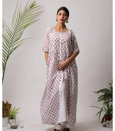 Firdaus Cotton Long Dress