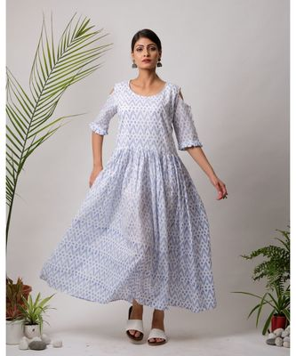 Udaipur Cotton Long Deress