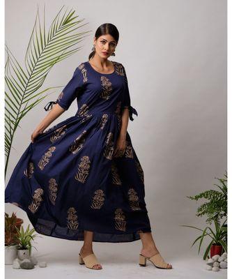 Shena Cotton Long Dress