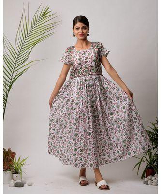 Bahara  Cotton Long Dress