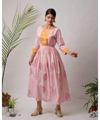 Muni Cotton Long Dress