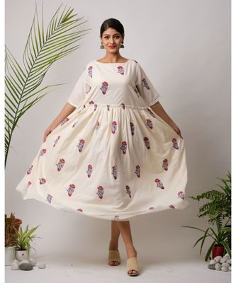 Mirda Cotton Long Dress