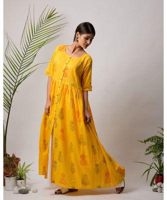 Zora Cotton Long Dress