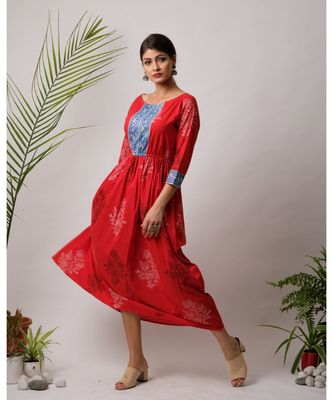Rosa Cotton Long Dress
