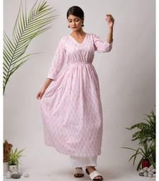 Mora Cotton Long Dress