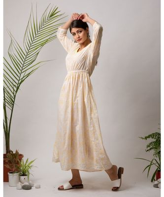 Tora Cotton Long Dress