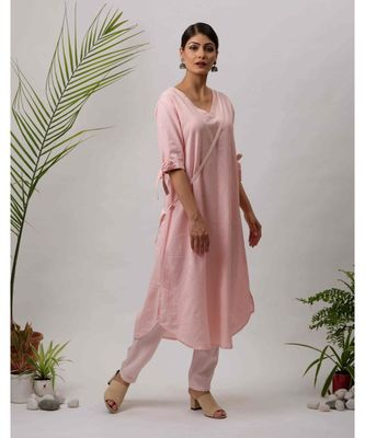 Airi Cotton Kurta and Pant Set two