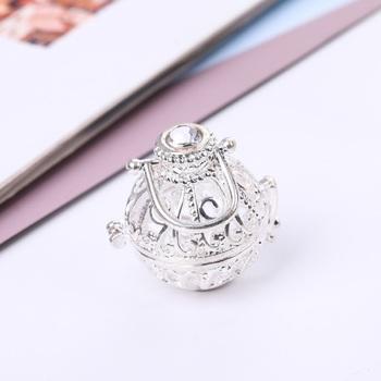Silver cubic zirconia pendants