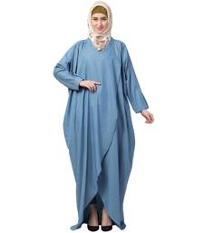 Loose Fit Denim Abaya