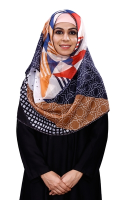 Printed Tibetian Silk Scarf Hijab Dupatta For Women